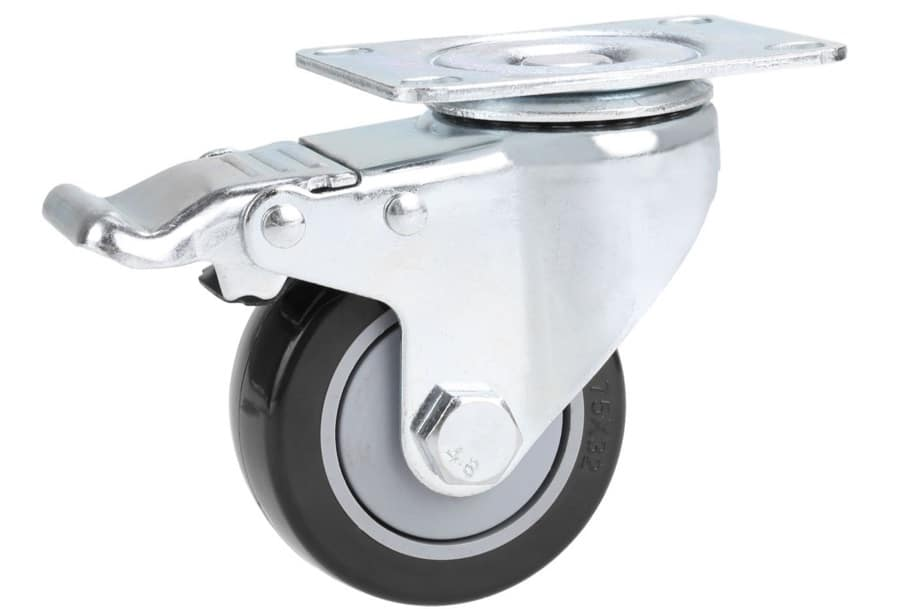 galvanized trough planter wheels