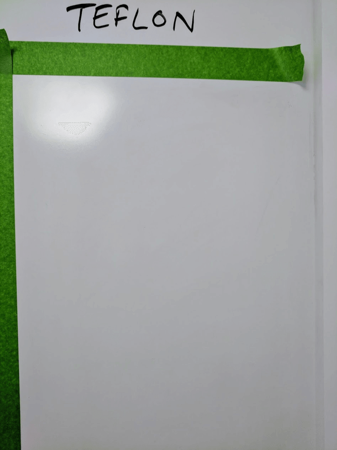 clean whiteboards finalist teflon