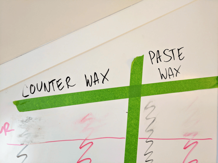 clean whiteboards waxes